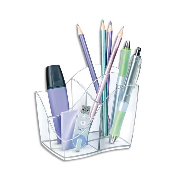 CEP Multipot 4 compartiments, coloris Cristal