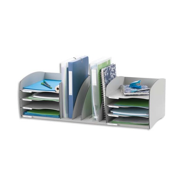 PAPERFLOW Organizer Evolution gris 79,5 x 24,5 x 34 cm