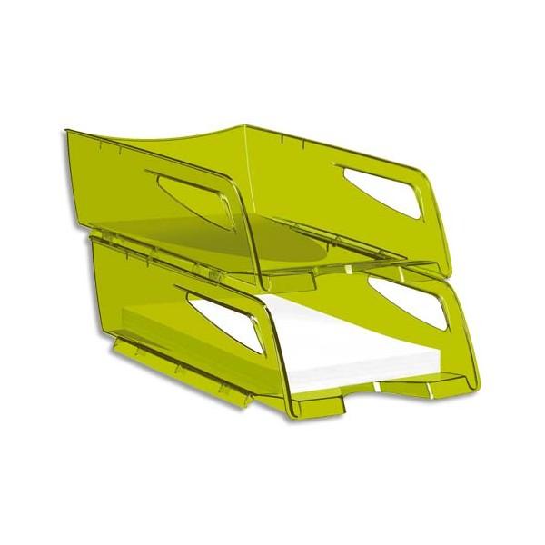 CEP PRO BY CEP Maxi corbeille à courrier Happy 220T - 25 x 10,1 x 34 cm - coloris vert bambou