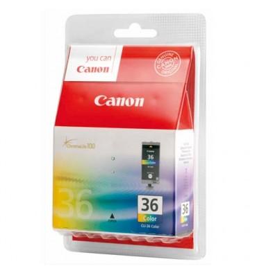 CANON Cartouches jet d'encre couleur cyan, magenta, jaune CLI-36