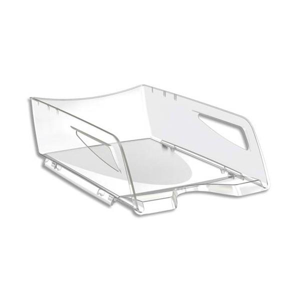 CEP PRO BY CEP Maxi corbeille à courrier Happy 220 - 25 x 10,1 x 34 cm - coloris cristal