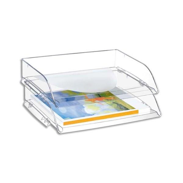 CEP PRO BY CEPCorbeille à courrier Happy 135 à l'italienne coloris cristal