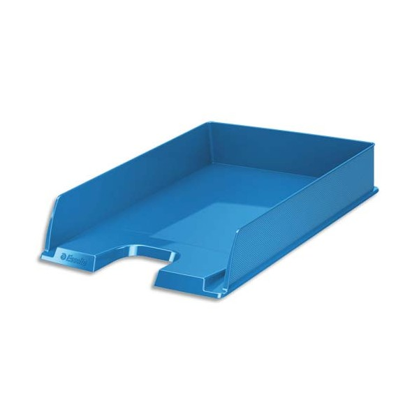 ESSELTE Corbeille à courrier VIVIDA 25,4 x 6,1 x 35 cm bleu
