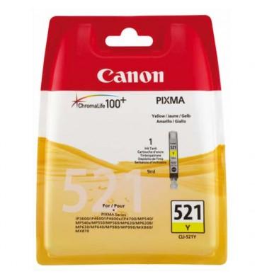CANON Cartouche jet d'encre jaune CLI-521 Y