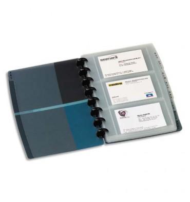 ELBA Sachet de 10 pochettes de 3 vues transparentes pour cartes de visite Proline