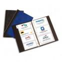 ELBA Classeur porte-cartes de visite Elégance noir 140 cartes capacité 300 cartes