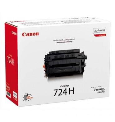 CANON Cartouche toner laser haute capacité noir CRG724H