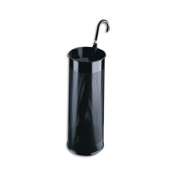 DURABLE Porte-parapluies tôle perforée noir capacité 10 parapluies
