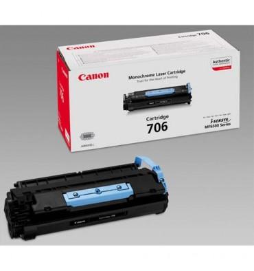 CANON Cartouche toner laser noir 706