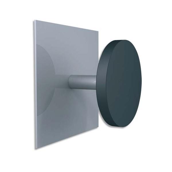 ALBA Patère fixation magnétique metal et plastique (photo)