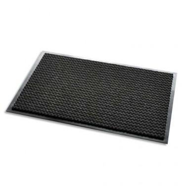 3M Tapis d'accueil Aqua Nomad noir 65 double-fibres 90 x 60 cm épaisseur 7,5 mm