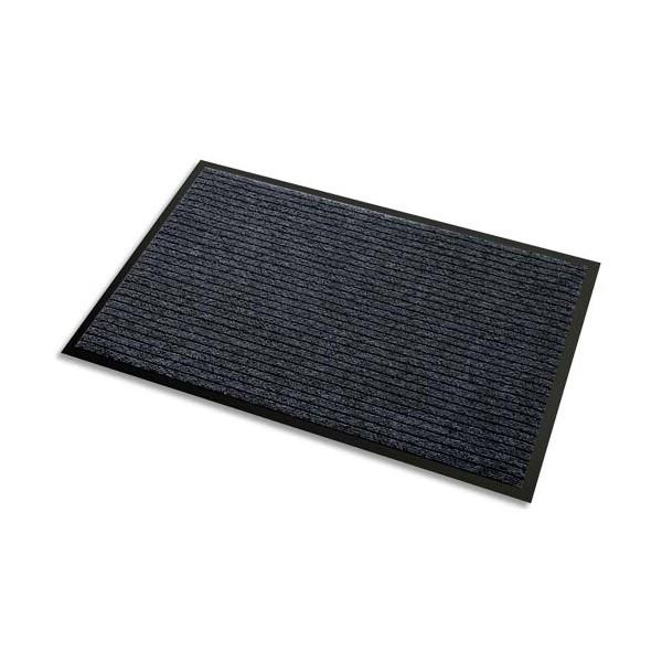 3M Tapis d'accueil Aqua Nomad 45 noir double fibre grattante et absorbante 90 x 150 cm épaisseur 5,6 mm (photo)