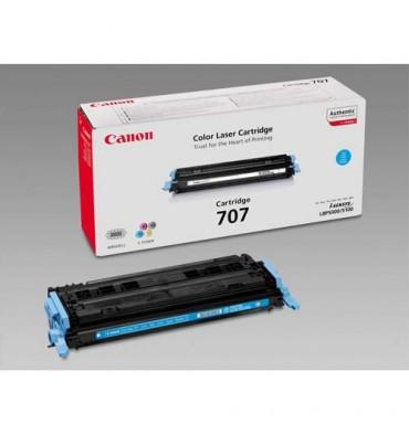 CANON Cartouche toner laser cyan 707