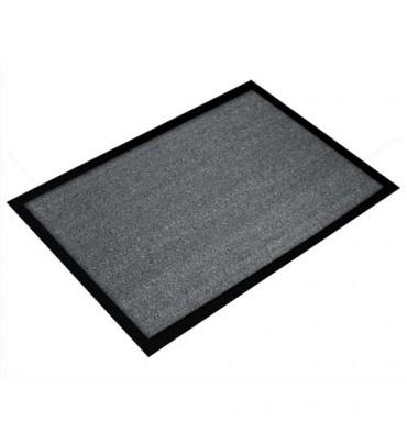 FLOORTEX Tapis d'accueil Valuemat gris 60 x 80 cm épaisseur 7 mm