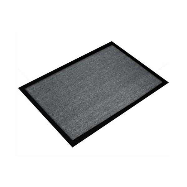 FLOORTEX Tapis d'accueil Valuemat gris 60 x 80 cm épaisseur 7 mm (photo)