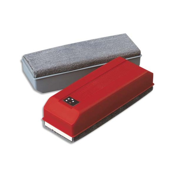 5 ETOILES Brosse non magnétique rouge pour tableau blanc (photo)