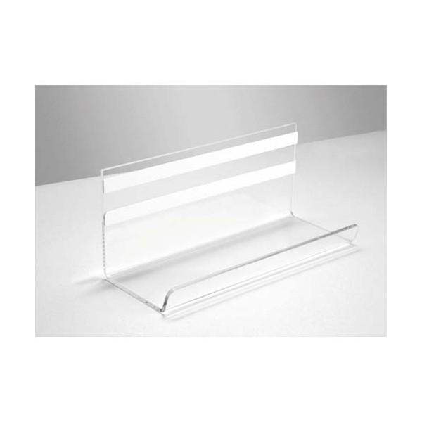 SIGEL Porte-marqueurs transparent, fixation avec bande adhésive, 17 x 7,5 x 7 cm