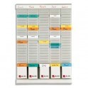 VAL-REX BY NOBO Planning WEEKLY PLANNER 5 bandes de 24 fiches indice 2