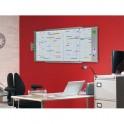 VAL-REX BY NOBO Planning annuel magnétique effaçable 80 lignes 12 colonnes 63 x 171 cm
