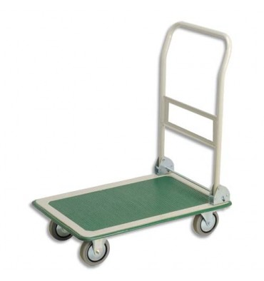SAFETOOL Chariot pliable charge utile 300 kg dimensions 74,5 x 86 x 48 cm