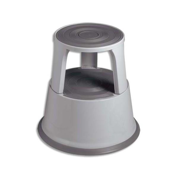 SAFETOOL Marchepied diamètre 43,5 cm hauteur 43 cm coloris gris (photo)