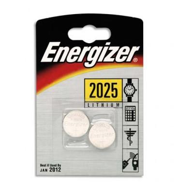ENERGIZER Blister 2 piles CR2025