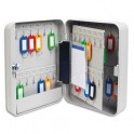 5 ETOILES Armoire à clés capacité 45 clés grise - Dimensions : 18 x 25 x 8 cm