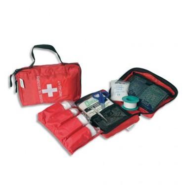 LABORATOIRES ESCULAPE Trousse premiers secours spécial véhicules pour 1 à 4 personnes