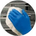 KIMBERLY Boîte 200 Gant Kleenguard artic Bleu nitrile taille S