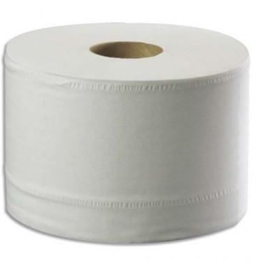 TORK Lot de 6 rouleaux Papier toilette Classic Advanced 2 plis 1150 feuilles Ecolabel distributeur SmartOne