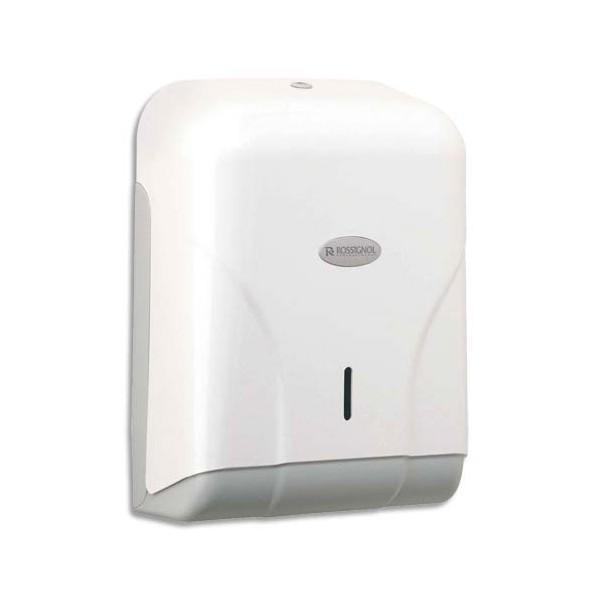 ROSSIGNOL Distributeur Oléane pour essuie-mains 400 feuilles blanc