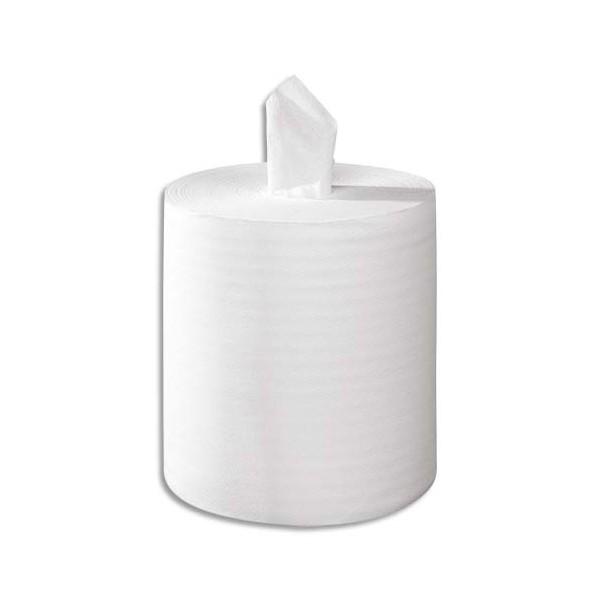 TORK Lot de 6 Bobines Maxi Reflex papier d'essuyage à dévidage central feuille à feuille 114 m 1 pli blanc