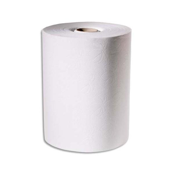 TORK Lot de 6 Rouleaux d'essuie-mains pour distributeur électronique 2 plis 143m, largeur 24,7 cm blanc
