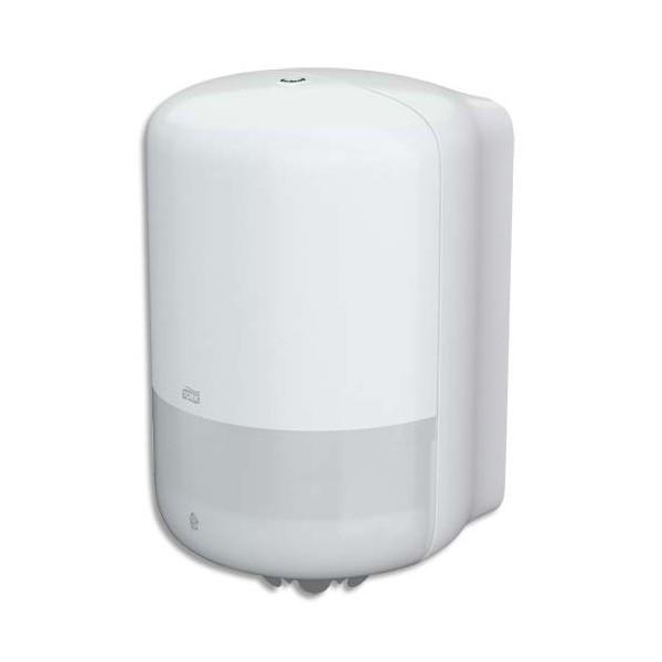 TORK Distributeur M2 pour maxi bobine à dévidage central, verrouillage à clé 24 x 37,7 x 22,5 cm blanc