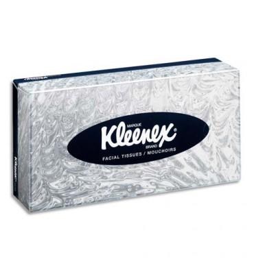 KIMBERLY Boîte de 100 mouchoirs Blanc KLEENEX