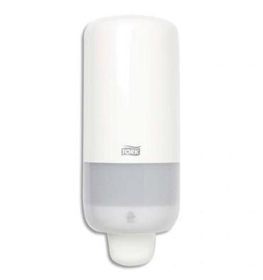 TORK Distributeur de savon mousse Elevator S4, 2500 doses en ABS- 11,3 x 28,6 x 10,5 cm blanc