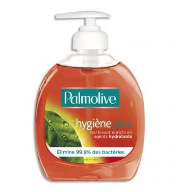 PALMOLIVE Flacon pompe 300 ml Savon liquide Hygiène+ anti-bactérien enrichit en agents hydratants PH Neutre
