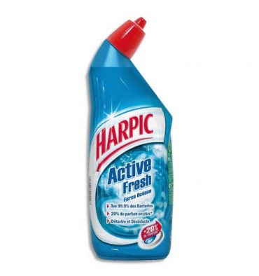 HARPIC Flacon de 750 ml Gel auto-actif Force Océane