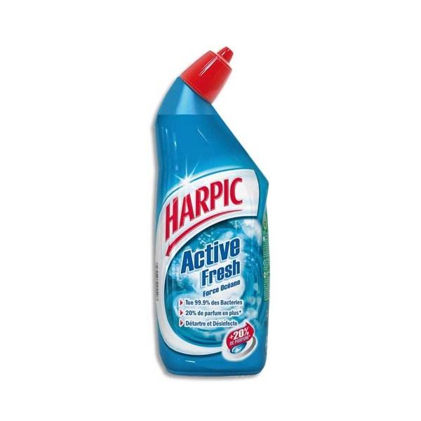 HARPIC Flacon de 750 ml Gel auto-actif Force Océane