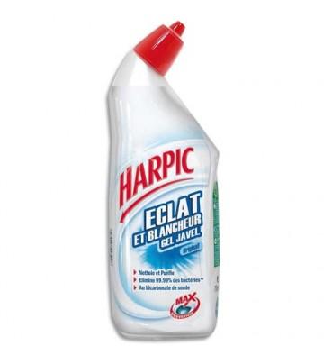 HARPIC Flacon de 750 ml Gel Javel éclat et blancheur