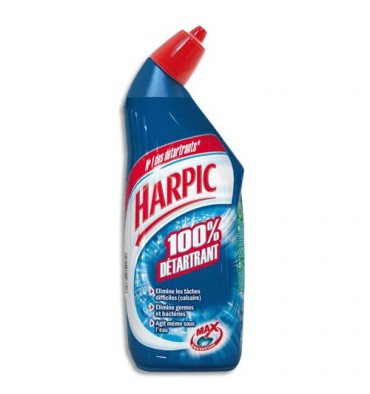 HARPIC Flacon de 750ml Gel Fresh WC 100% détartrant