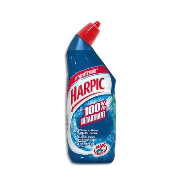 HARPIC Flacon de 750ml Gel Fresh WC 100% détartrant