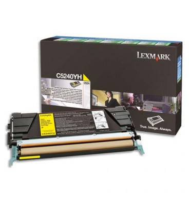 LEXMARK Cartouche toner cyan return program C734A1CG