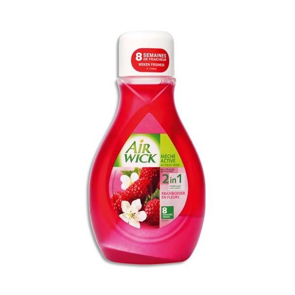 AIR WICK Mèche parfum framboisier flacon 375 ml (photo)