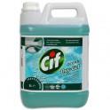 CIF PROFESSIONAL Flacon 5 litres nettoyant multi-usages oxygel à l'oxygène actif fraîcheur océan