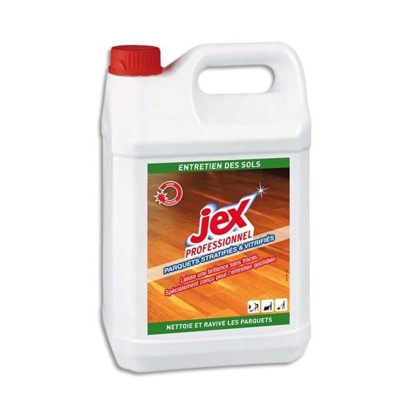 JEX Professionnel Entretien parquets vitrifiés stratifiés, 5 litres