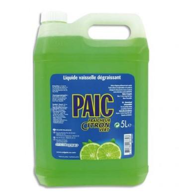 PAIC CITRON Bidon de 5 litres de liquide vaisselle main parfumé citron vert