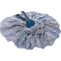 AZURDI Mop jupe de rechange en fibre de coton - Longueur 32 cm, diamètre 9 cm