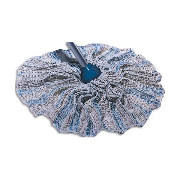 AZURDI Mop jupe de rechange en fibre de coton - Longueur 32 cm, diamètre 9 cm (photo)