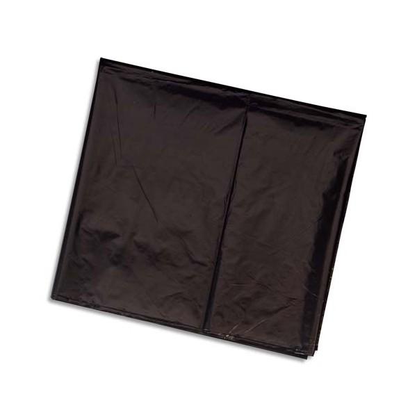 SACS POUBELLES Boîte de 100 sacs poubelle 240 litres noir pour container 30 microns